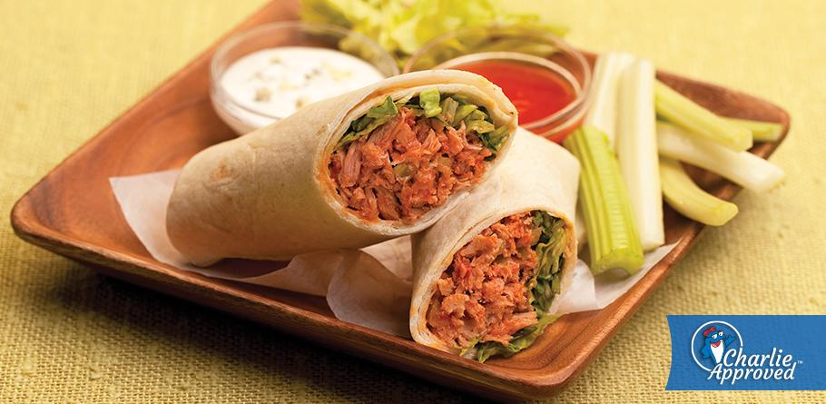 Buffalo Tuna Wraps