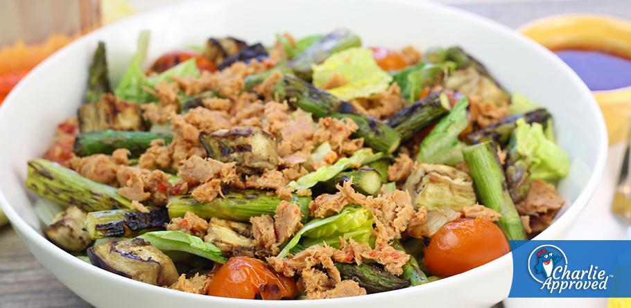 Hungry Girl's Grilled & Chilled Veggie Tuna Salad