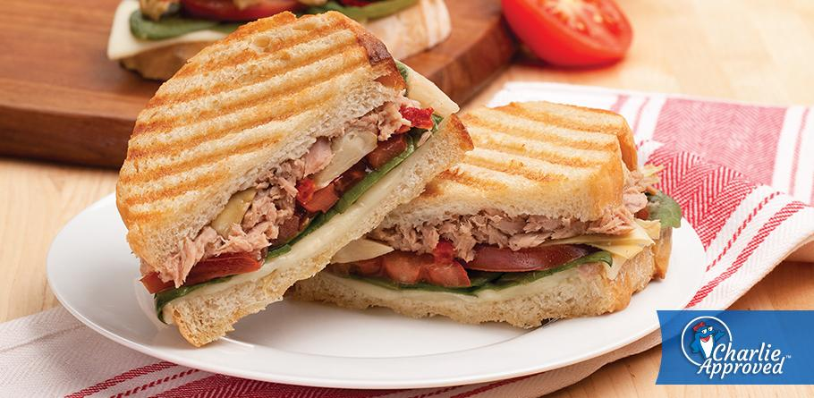 Herb and Garlic Panini