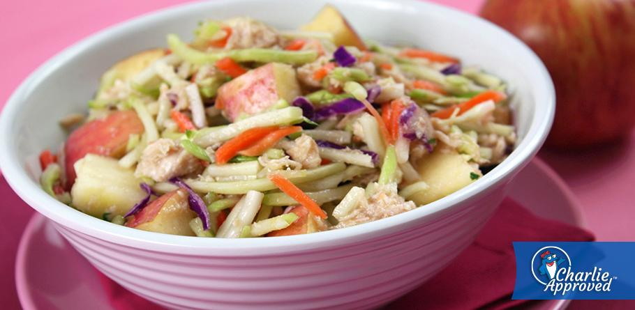 Hungry Girl's Too-Good Tuna 'n Apple Slaw