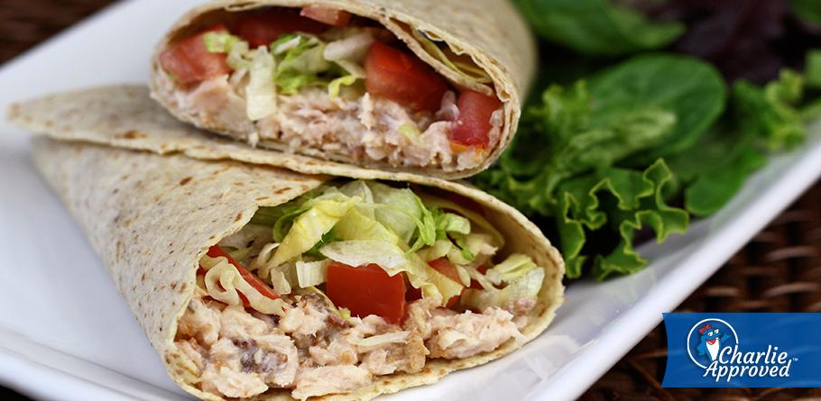 Hungry Girl's Tuna Bacon Ranch Wrap