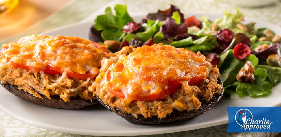Portabella Tuna Melts