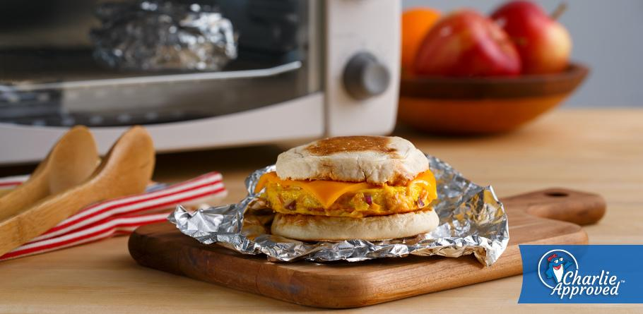 Salmon Breakfast Sandwiches - Make ahead breakfast