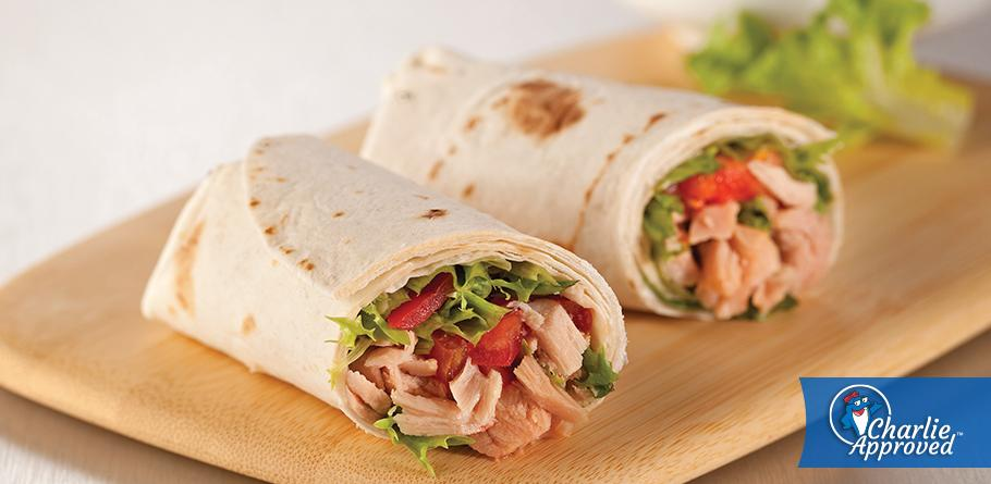 Simple Tuna Wrap