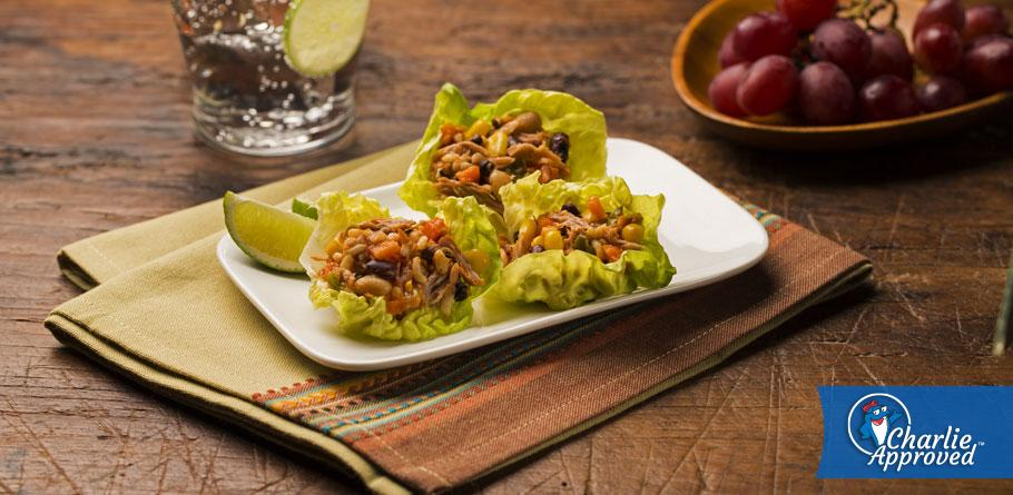 Tuna Rice and Beans Salad Cups