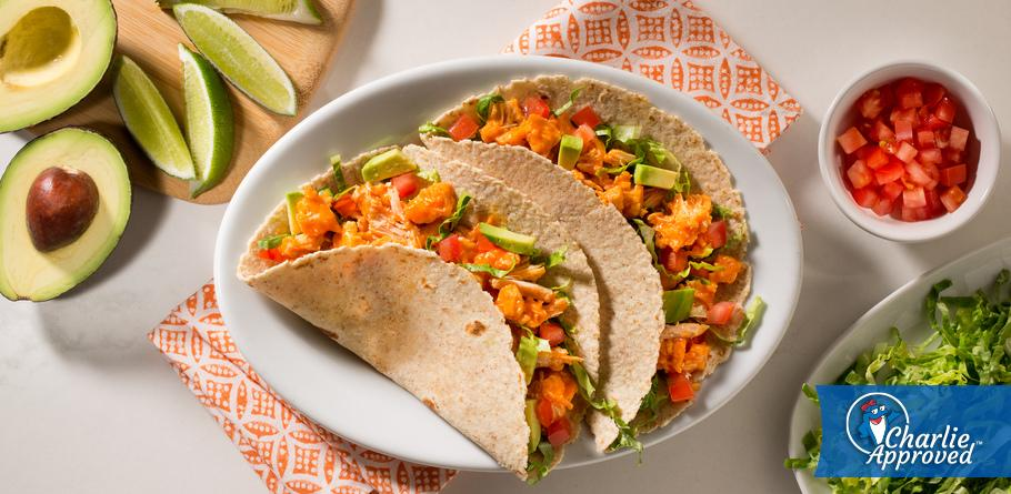 Weeknight Buffalo Chicken Tacos